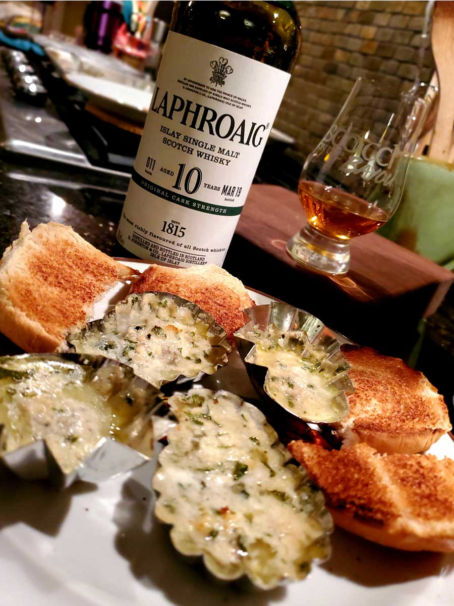 Islay Scotch and Oysters